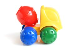 Concrete mixer toy Royalty Free Stock Images