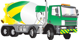 Concrete Mixer Truck Royalty Free Stock Photo
