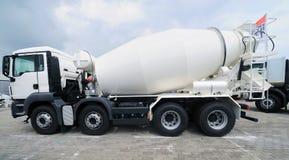 Concrete Mixer Truck Stock Photo