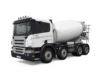 Concrete Mixer Truck Royalty Free Stock Image