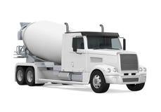 Concrete Mixer Truck royalty free illustration