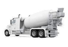 Concrete Mixer Truck vector illustration