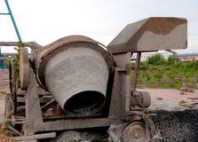 Concrete mixer Stock Image