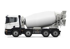 Concrete mixervrachtwagen Royalty-vrije Stock Foto's