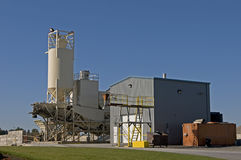 Concrete mixing facility Stock Photos