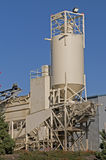 Concrete mixing facility Stock Image