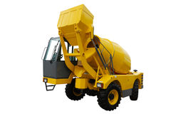Concrete mixing machine Royalty Free Stock Photography