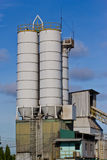 Concrete mixing plants Stock Photography