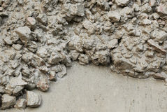 Concrete mixture Royalty Free Stock Image