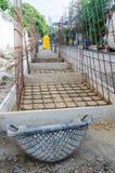 Concrete mold Stock Image