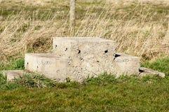 Concrete mounting block Royalty Free Stock Photo