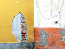 Concrete muur als achtergrond Stock Foto