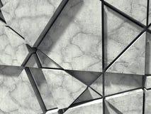 Concrete muur Chaotisch patroonontwerp De achtergrond van de architectuur vector illustratie