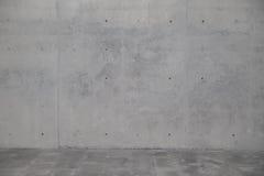 Concrete muur Element van moderne architectuur Royalty-vrije Stock Afbeeldingen