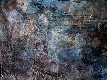 Concrete muurachtergrond Donkere versie Royalty-vrije Stock Fotografie