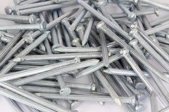 Concrete nails Royalty Free Stock Image