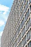 Concrete office building. Air conditioners Stock Image