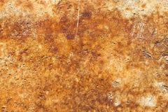 Concrete oppervlakte met roest Stock Fotografie