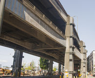 Concrete Overpass in Seattle Royalty Free Stock Photo