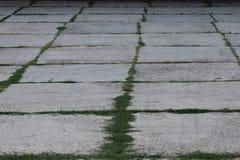 Concrete Parking Lot Stock Images