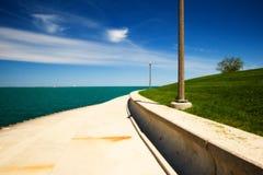 Concrete Path Stock Images
