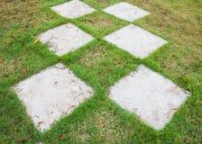 Concrete pathway Stock Photo