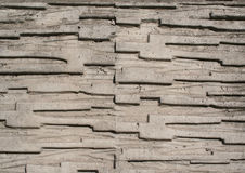 Concrete with pattern Royalty Free Stock Photos