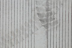 Concrete paved texture Stock Photography