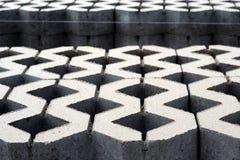 Concrete pavement royalty free stock photography