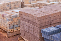 Concrete Pavers Royalty Free Stock Images
