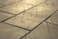 Concrete paving Stock Photography