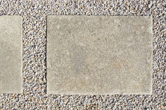 Concrete paving slap Stock Photography