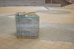 Concrete Paving Stone Royalty Free Stock Image