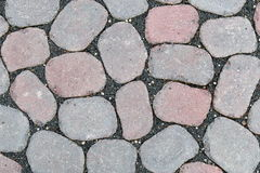 Concrete paving stones Royalty Free Stock Photo