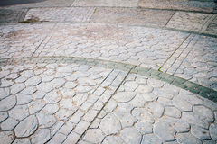 Concrete paving texture Royalty Free Stock Photo
