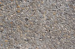 Concrete with pebbles texture #2 royalty free stock images