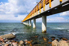 Concrete pier Stock Photography