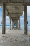 Concrete Pier Royalty Free Stock Images