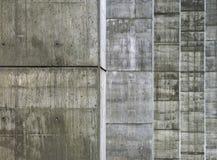 Concrete pijlers Stock Afbeelding