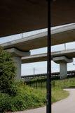 Concrete pijlers Stock Afbeeldingen