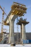 Concrete pijlers Royalty-vrije Stock Afbeelding