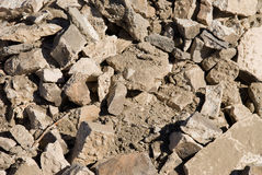 Concrete pile Royalty Free Stock Image