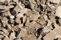 Concrete pile Royalty Free Stock Image