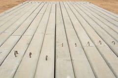 Concrete pile Stock Photography