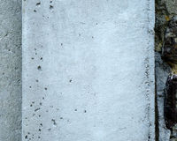 Concrete Pillar. Closeup of a concrete pillar Royalty Free Stock Images