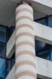 Concrete Pillar. In a modern building Royalty Free Stock Photos