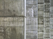 Concrete pillars Stock Image
