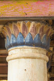 Concrete pillars inside the temple, Royalty Free Stock Photos