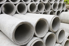 A concrete pipe Royalty Free Stock Photo