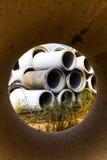 Concrete Pipe Royalty Free Stock Photo